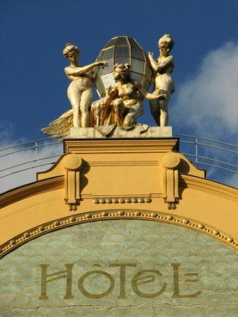 go2prague.com Grand Hotel Evropa, Prague. Come to stay in style!