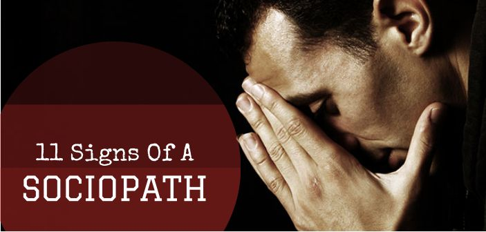 Sociopaths can be hard to spot because they're experts at appearing totally normal. Check out this list to find out the telltale signs of a sociopath!
