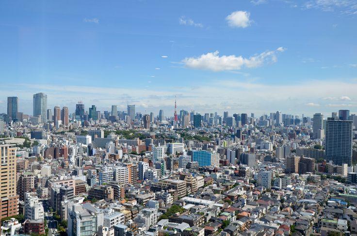 From Ebisu looking towards Roppongi, Tokyo.