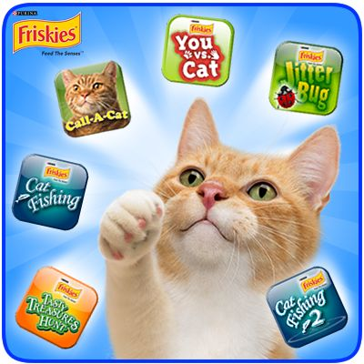 23 best friskies games for cats images on pinterest for Friskies cat fishing