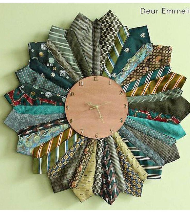 Dear Emmelineu0027s Necktie Sunburst Clock 162 best