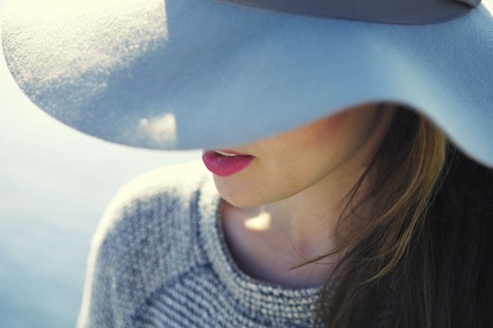 Lehnsherr: Sun Hat (Blue & Gray)