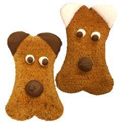 2 Welpen Gesicht Hund Cookies von AnimalSupplies auf Etsy