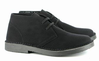 Bush Boot in Black from Vegetarian Shoes