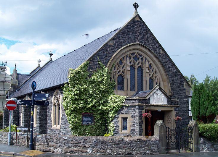 Catholic Church in Beaumaris, Wales