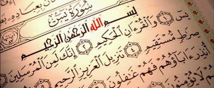 تفسير رؤية قراءة سورة يس في المنام لابن سيرين موقع مصري Arabic Calligraphy Calligraphy