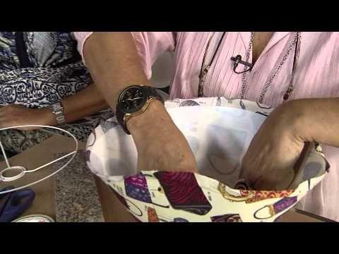 Aprenda como fazer uma cúpula para abajur