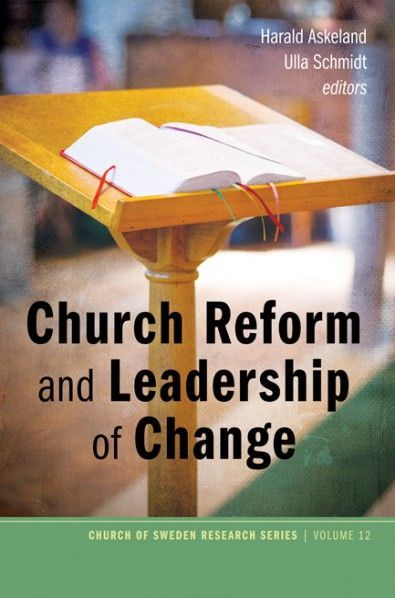 Church Reform and Leadership of Change (EDITED BY Harald Askeland, Ulla Schmidt; Imprint: Pickwick Publications). Reforms and processes of change have become an increasingly pervasive characteristic of European Protestant churches in the last fifteen to twenty years. Driven by perceptions of crises, such as declining membership rates, dwindling finances, decreasing participation in church rituals, and less support of traditional church doctrine, but also changes of governance of religion…