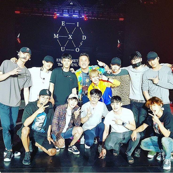 Tampil bersama EXO, Yoo Jae-suk Jadi Trending Topik Dunia