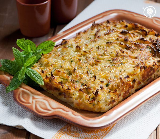 Thursday's recipe: Cabbage pie! A wholesome dish, easy-as-pie to make, will make kids vegetable converts! Get this recipe here: http://bit.ly/1pevU5I #yolenistaste #yolenisrecipes #recipes