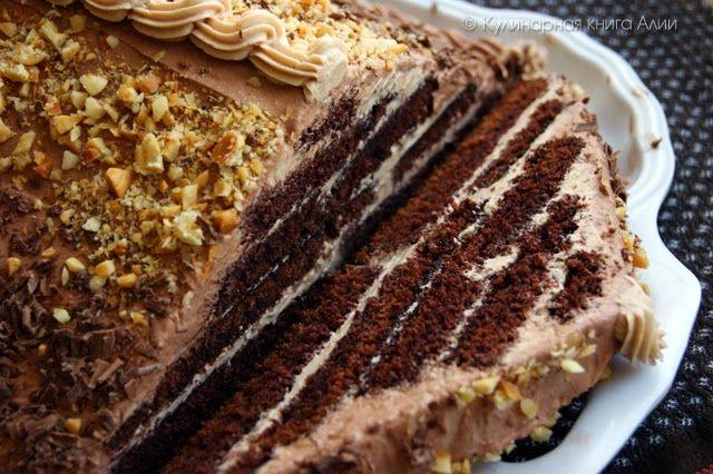 """Кулинарная книга Алии: 618. Торт """"Шоколадная пирамида"""""""