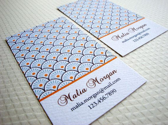 94 best pikake press business cards images on pinterest personalized business card calling card set of 50 colourmoves