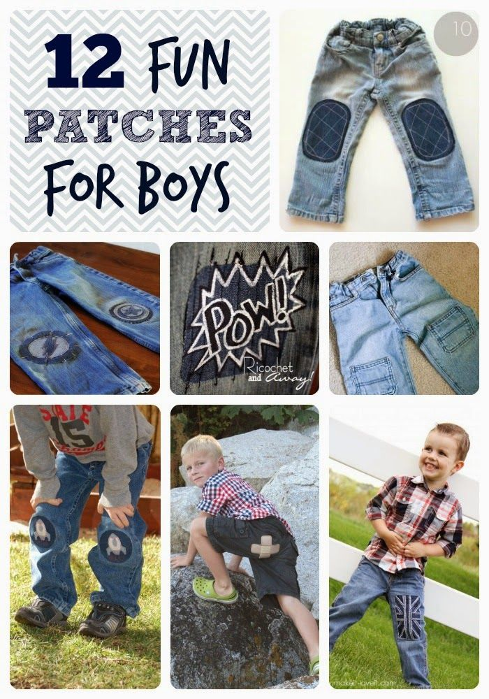 Fun Patches for Boys Pants