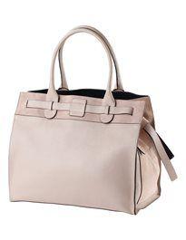 Grosse Handtasche aus echtem Leder