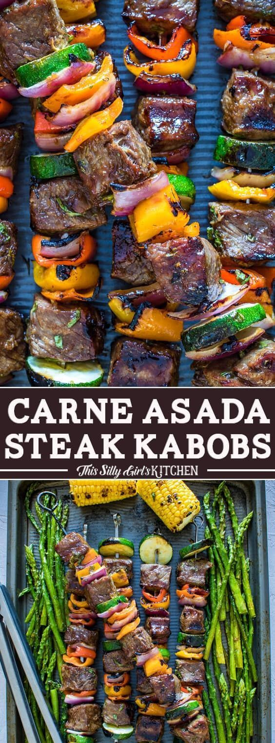 Brochetas de Carne Asada Steak   – Foodie Favorites