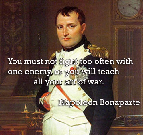 Napolean Quotes: 1000+ Art Of War Quotes On Pinterest