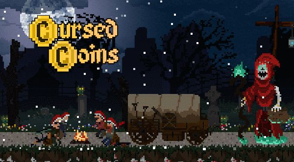 Cursed Coins per #android  - un intenso defense game in pixel art!