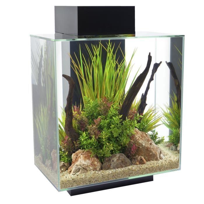 AQUARIUM FLUVAL Aquarium complet Edge Glossy 46 L - Noir