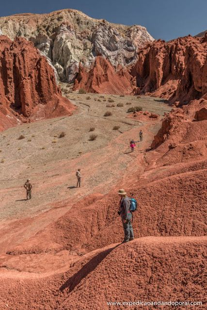 Valle del Arco Iris em San Pedro de Atacama