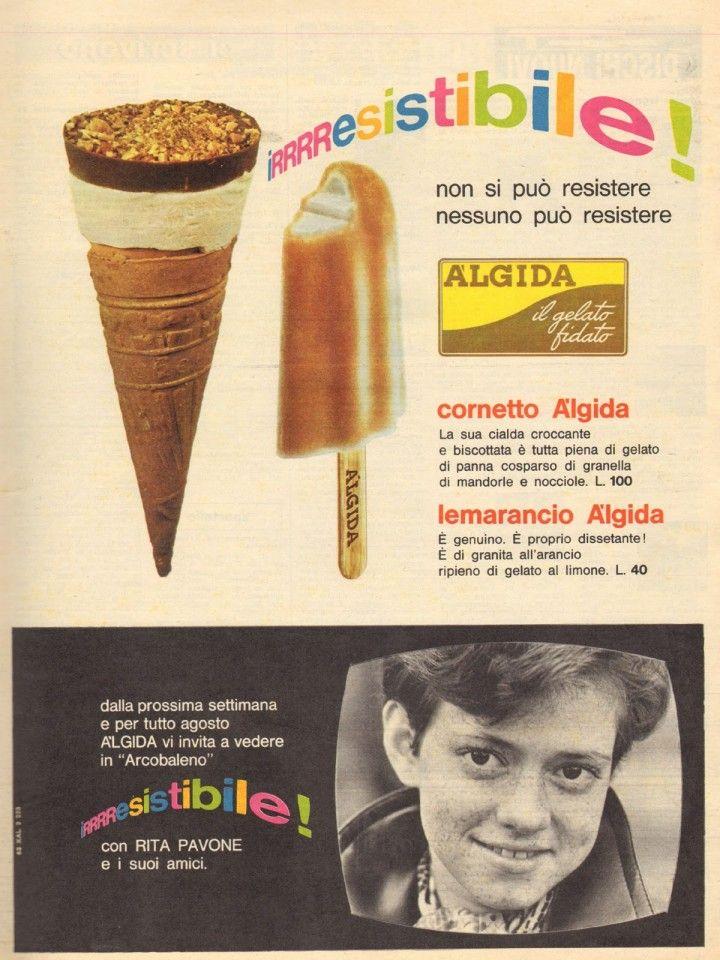 Cornetto Algida con Rita Pavone