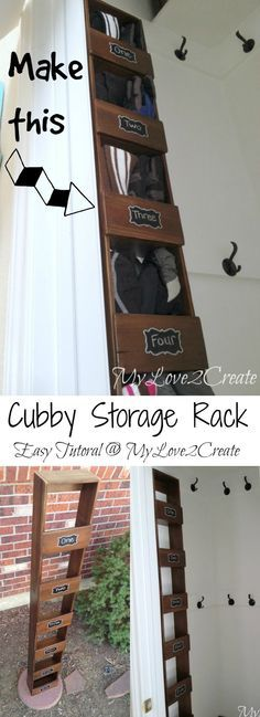 MyLove2Create Cubby Storage Rack