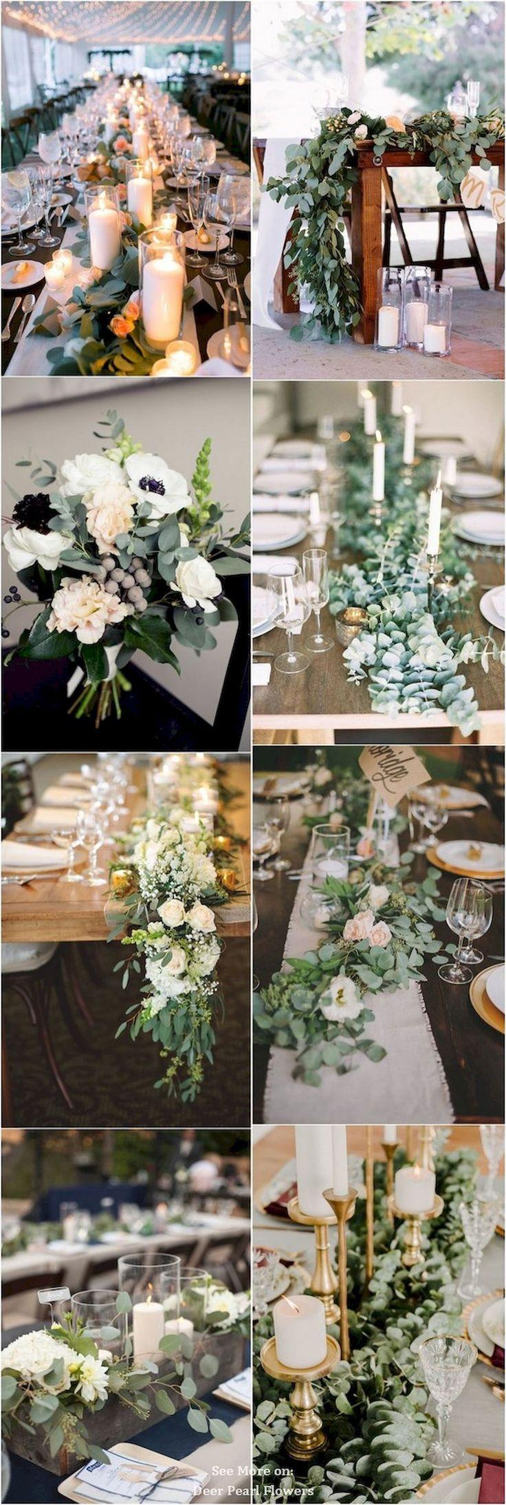 Nice 67 Simple Greenery Wedding Centerpieces Ideas https://bitecloth.com/2017/09/04/67-simple-greenery-wedding-centerpieces-ideas/
