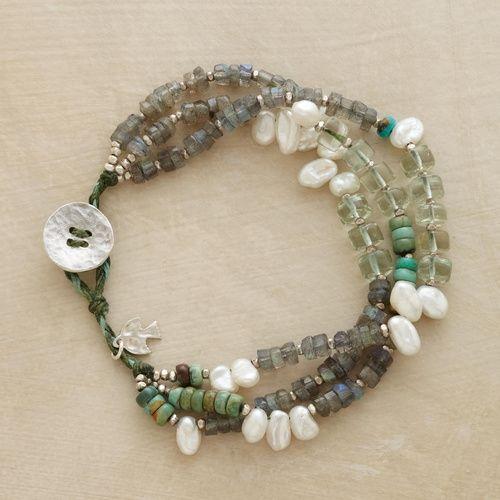 green goddess bracelet. $148.00 by meagan