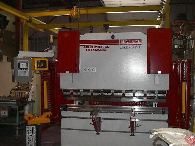 Baykal Press Brakes utilizing the ISB Merlin 3000 Safeguarding system to provide safety for the operator. Details: http://www.isblite.com/index.php