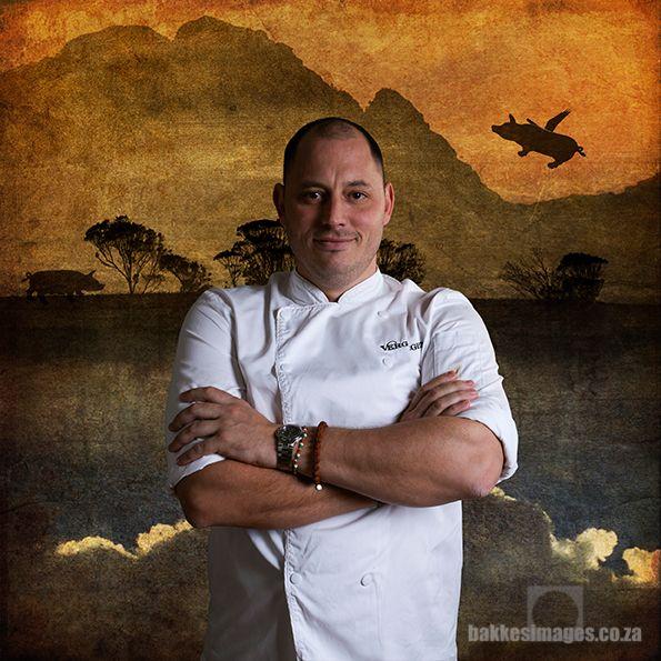 Chef PJ Vargas of Vergelegen Restaurant.