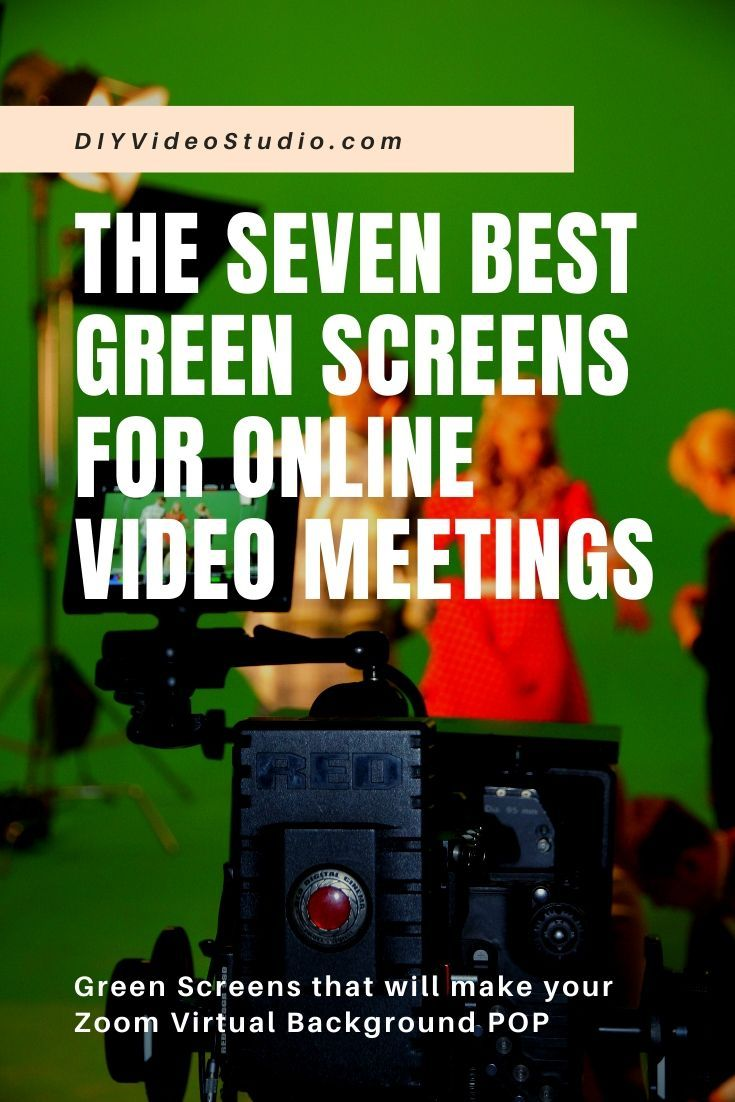 The Seven Best Green Screens For Video Conferencing Best Green Screen Greenscreen Cheap Green Screen
