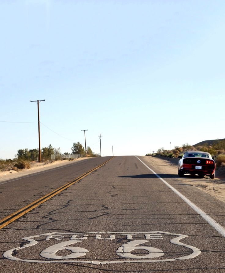 Road Trip Across America starting with Route 66