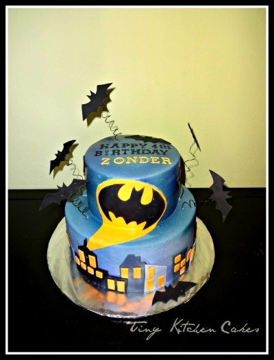Batman cake my birthday is in November ;)