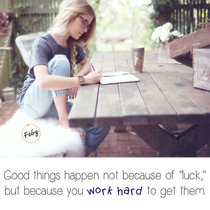 hard work vs luck Success turns out to be a mixture of hard work, intelligence, and just the right  happenstance.