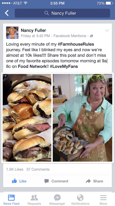 Help Nancy Fuller get to 10K likes on Facebook!