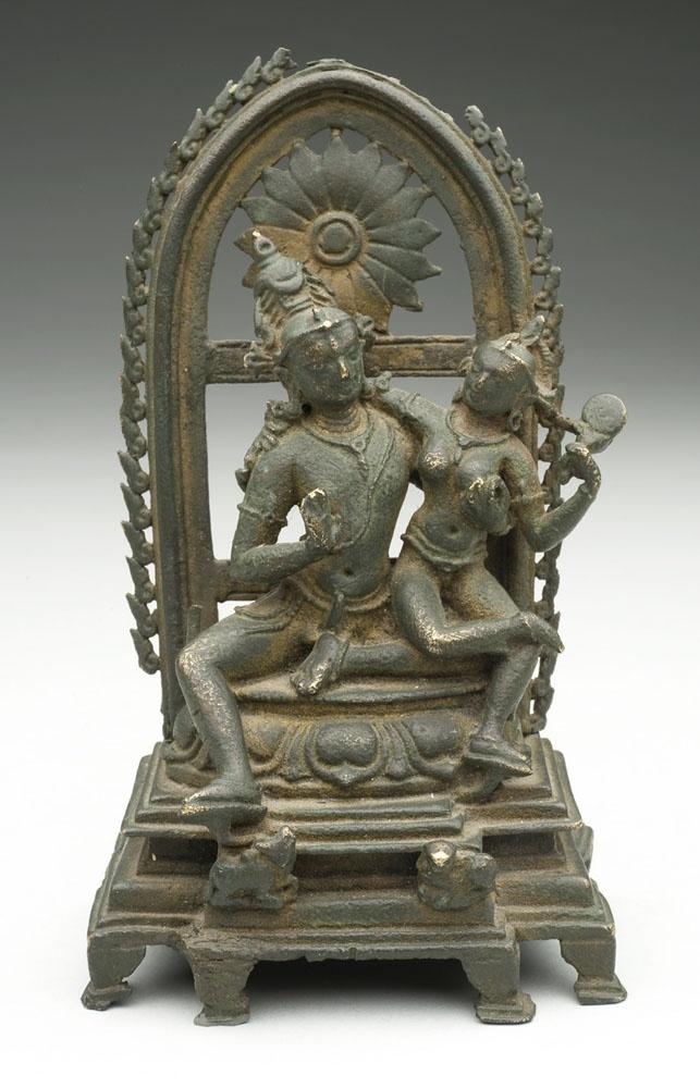 Uma-Mahesvara   E. Bengal  9th c.  bronze