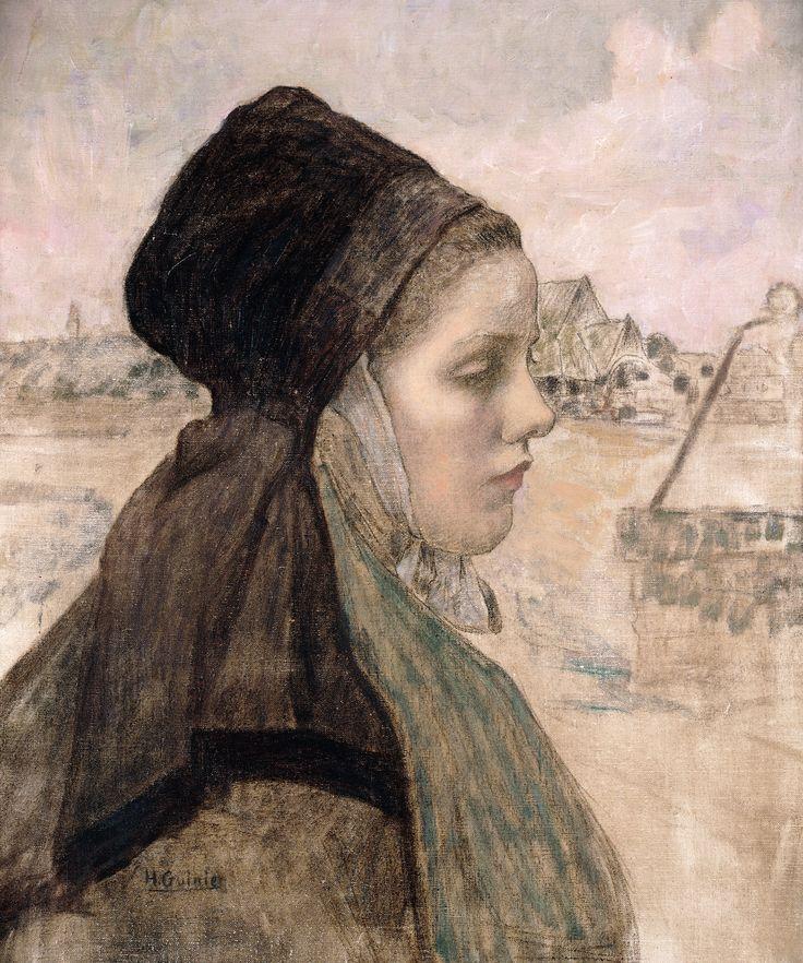 "Henri Guinier, ""Jeune faouëtaise"""