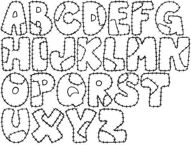 Moldes Letras   Abecedarios   Pinterest   Letters
