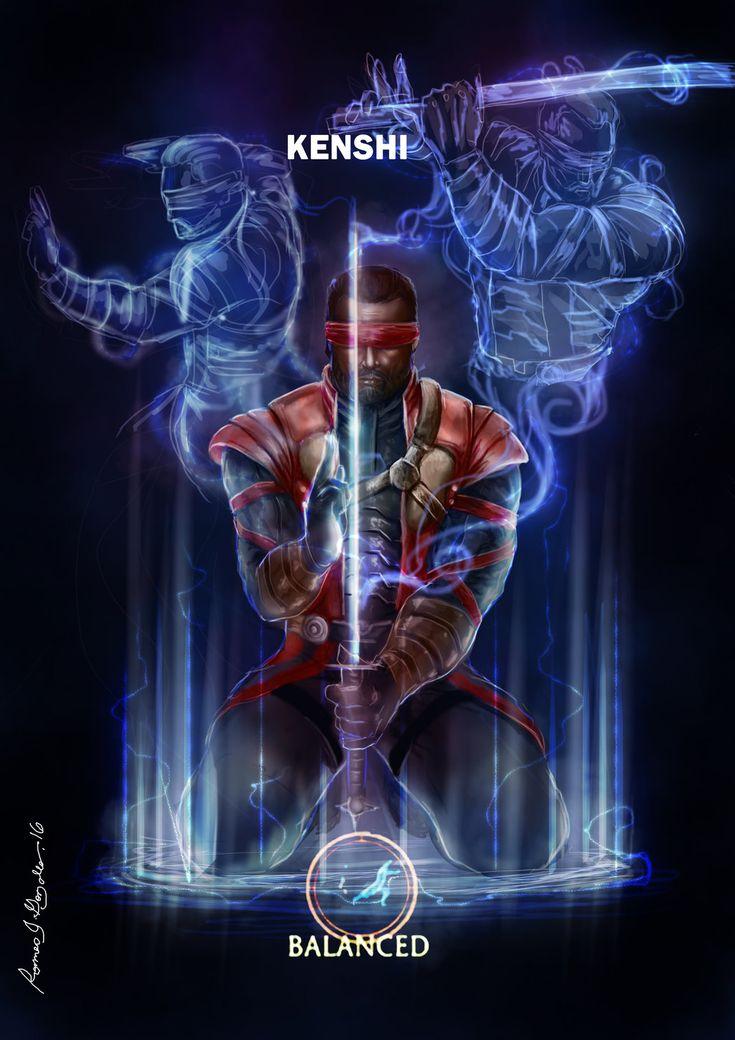 Kenshi-Balanced Mortal kombat x by Grapiqkad.deviantart.com on @DeviantArt