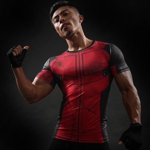 Deadpool Work Out Shirt