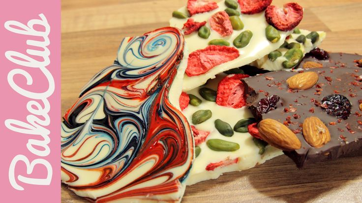 Bruchschokolade - Unsere Top 3 Varianten! | BakeClub