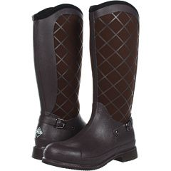Love Muck boots! Keep your feet warm & dry and they hold up to hard work.