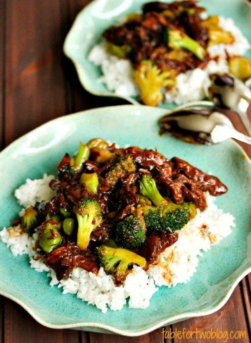 Beef & Broccoli Crockpot Recipe.