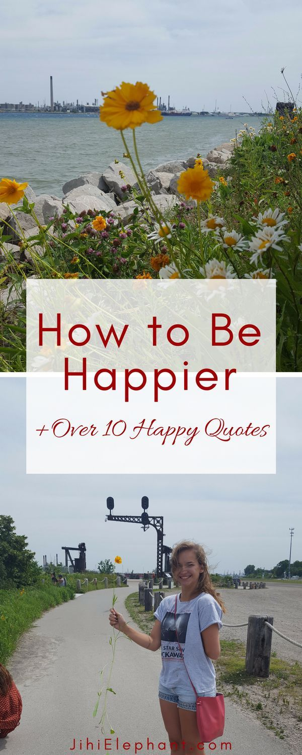 How to Be Happier | 10 Happiness-Promoting Practices + Over 10 Happy Quotes to Share Happiness is as much a choice as it is an involuntary emotion. Let me explain. You might often feel happiness without choosing to. For example, if a friend surprises you with something you love, you would most likely...