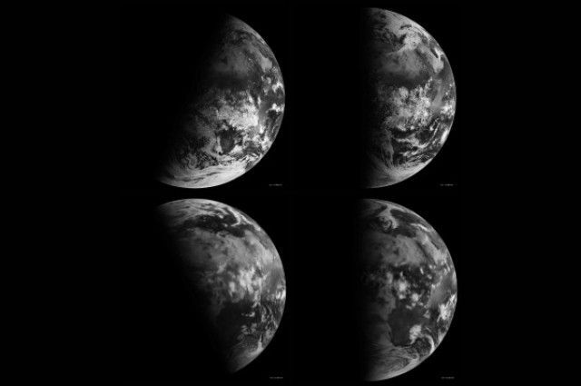KS1, 2, 3: Season and tilt shown through time-lapse of Earth.  *Strong language and complex ideas* #seasons #space #timelapse #STEM