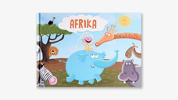 Nejnovější osobní kniha o Africe a zvířátkách, která tam žijí. Děti se při čtení seznámí se slony, žirafami, hrochy, antilopami a spoustou dalších afrických živočichů. Kniha obsahuje prvky encyklopedie, které jsou zamíchány v líbivém dětském příběhu plném fantazie. Kniha je doplněna nádhernými obrázky ilustrátorky Anety Žabkové. Zažijte i vy, rodiče, zajímavé příběhy při čtení svým ratolestem