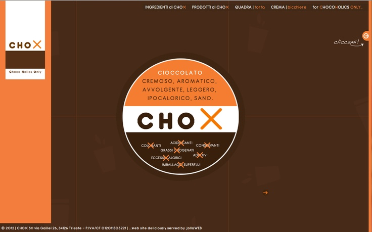 www.chox.it | for Choco Holics Only...  website by JollaWEB