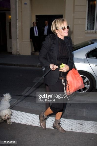 Singer Patricia Kaas arrives at L'Olympia on September 19, 2012 in Paris, France.
