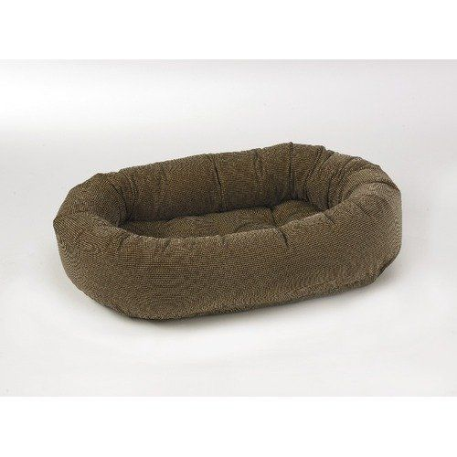 Donut Dog Bed Size Medium Color Houndstooth >>> Click on the image for additional details.