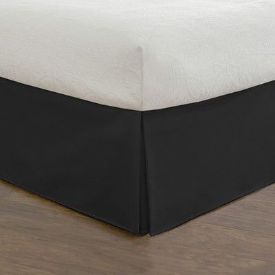 Found it at Wayfair - Luxury Hotel Microfiber Tailored Bed Skirt