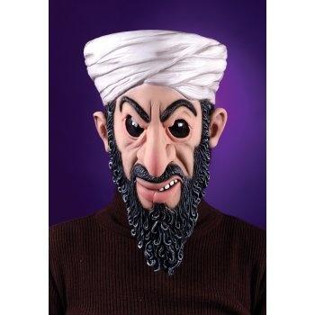 Osama Bin Laden Mask Adult: http://www.myhalloweencostumes.com/osama-bin-laden-mask-adult.php - Includes Mask.